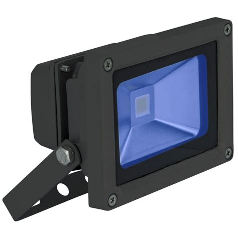 blue led flood light blue 10 watt high powered led flood light