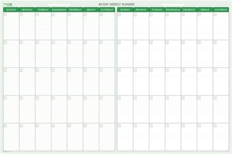 60 day 2 month dry erase calendar 38 x 58