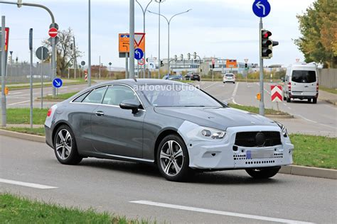 2020 Mercedes E Class by 2020 Mercedes E Class Coupe Facelift Spied For The