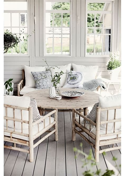 Cottage Porch by Updated Summer Cottage Porch Home