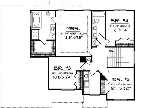 section 1059 plans prairie house plan 4 bedrooms 2 bath 2189 sq ft plan 7