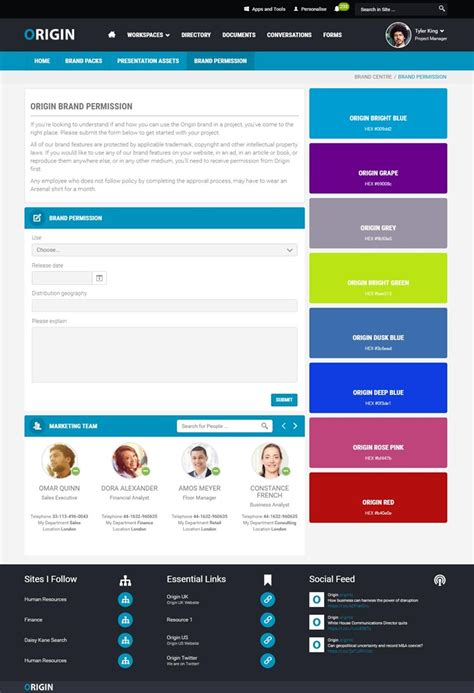Simple And Engaging Intranet Design Exles To Inspire You Best Intranet Template