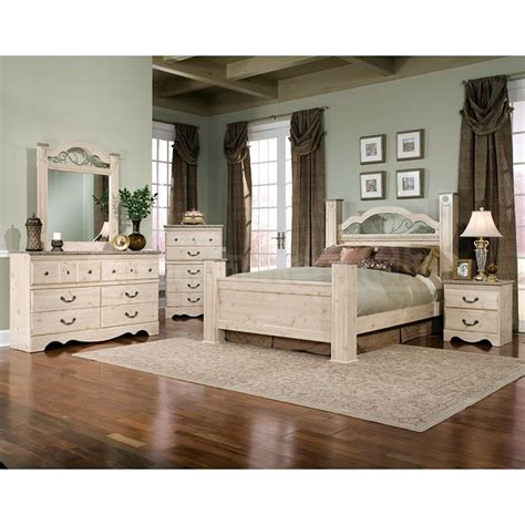 seville poster bedroom set standard furniture furniturepick