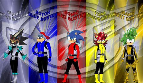 Buster Sonic sonic go buster for tknrkrgaim by rangeranime on deviantart