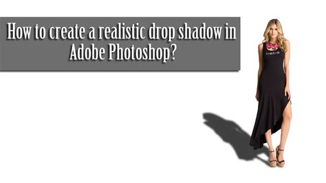 how to make a pattern in photoshop using an image how to create a realistic drop shadow using photoshop