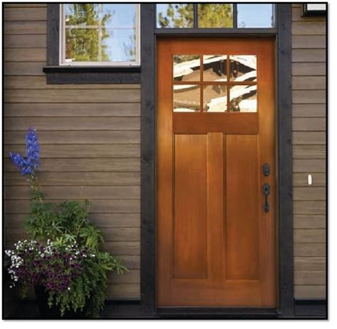 fir grain fiberglass door craftsman front doors los