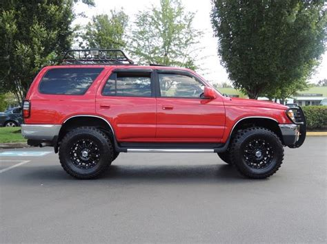 1998 toyota 4runner 4wd v6 3 4l 5 speed manual lifted 91k miles