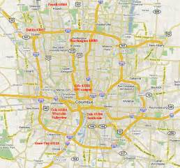 where is columbus on a map homes for purchase in columbus ohio including worthington