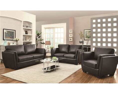 coaster sofa set w contemporary style lois co 5036set lss