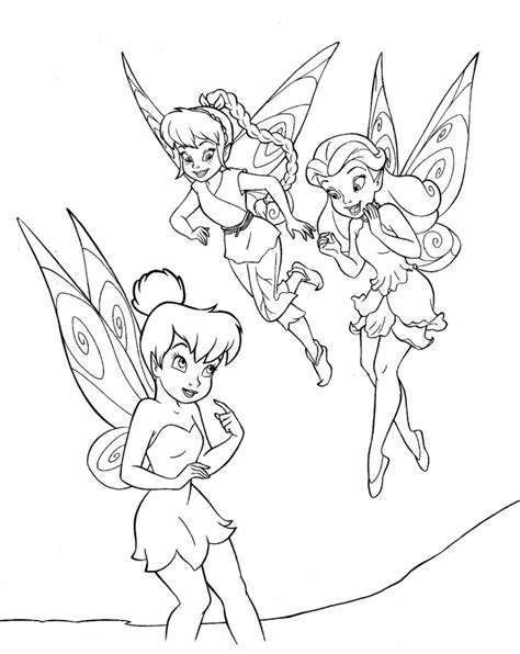 Tinkerbell And Friends Coloring Pages by Tinker Bell And Friends Az Coloring Pages
