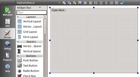layout qtoolbar qt menu mdi child window exle