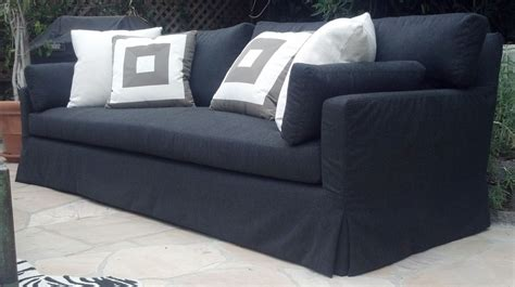 Custom Outdoor Slipcover Sofa By Heaven Custommade Com Custom Made Sofa Slipcovers