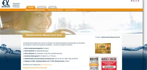 advanzia bank meine karte advanzia mastercard gold kreditkarte im vergleich m 228 rz 2018