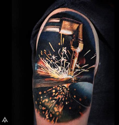 cutting tattoos cutting torch best ideas designs
