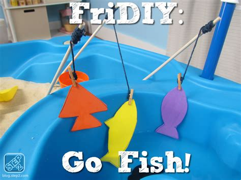 how to play fish table go fish kid s water table activity step2