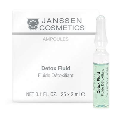 Cuccio Detox Soak Reviews by Janssen Detox Fluid 25 X 2 Ml
