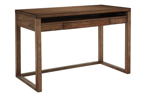baybrin home office small desk  rustic brown  ashley