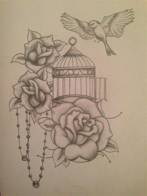 free bird tattoo designs best 25 bird cage tattoos ideas on cage