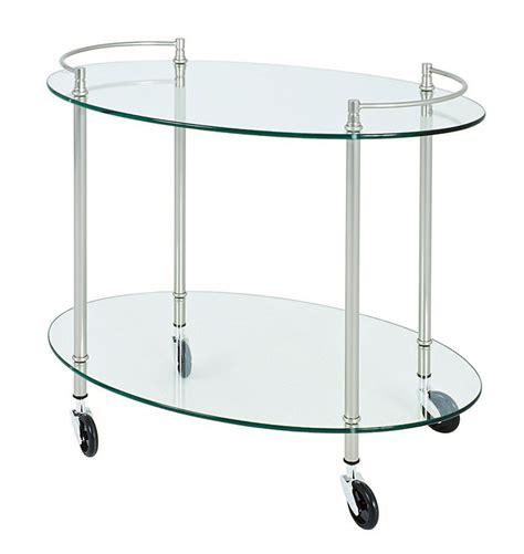Trolley Glass palazzo clear glass trolley 85868
