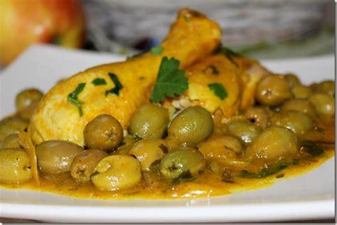 recettes de cuisine marocaine avec photos poulet aux olives دجاج بالزيتون les joyaux de sherazade
