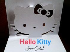 Pop Up Kitten Card Template by Popup On Kirigami Pop Up Cards And Pop Up