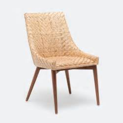 Rattan Dining Room Chairs Woven Rattan Dining Chair Mecox Gardens