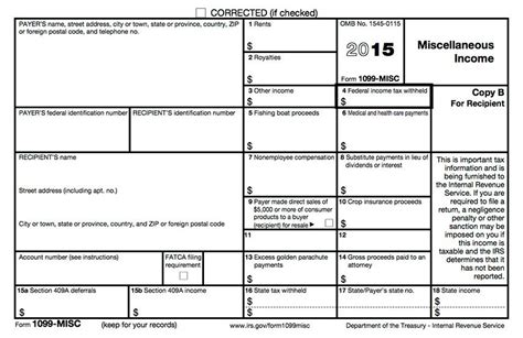 1099 misc template official 1099 form printable 2016 images