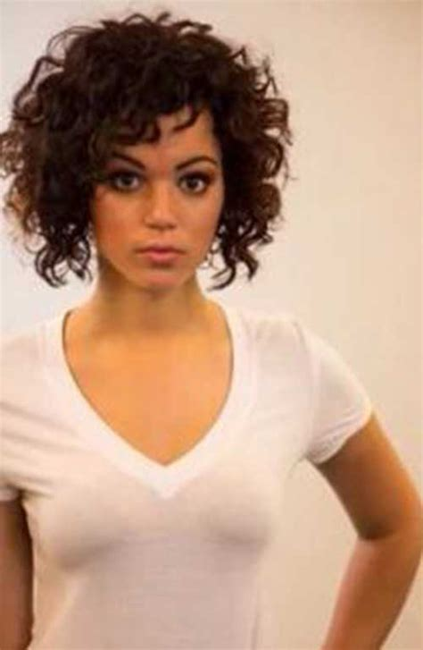 short hairhair straght on back curly on top 20 new short curly hair styles short hairstyles 2016