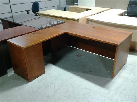 Used L Shaped Desks Used Office Desks Wood L Shape Desk At Furniture Finders