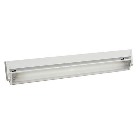 Filament Design Negron 1 Light White Fluorescent Under Fluorescent Light Cabinet