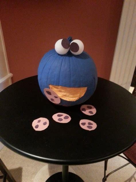sesame street pumpkins   cute halloween decor