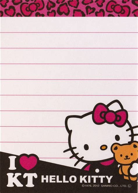 kawaii memo paper sanrio hello kitty 500 215 699