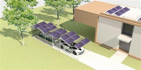 zonnepanelen op tuinhuis duurzame carport en greenhouse archstudio architecten