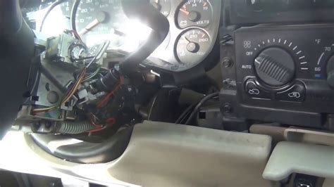 releasing chevy suburbansilverado ignition lock cylinder