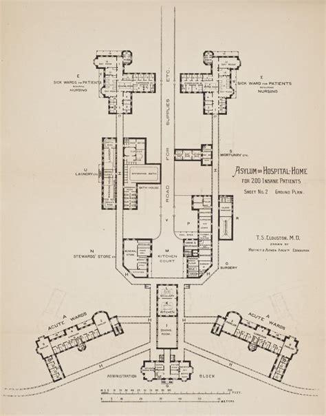 mental hospital floor plan 212 best asylums sanatoriums hospitals images on