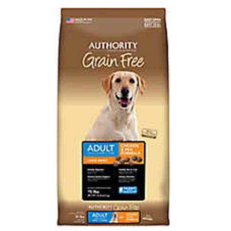 authority grain free puppy food authority 174 puppy food petsmart