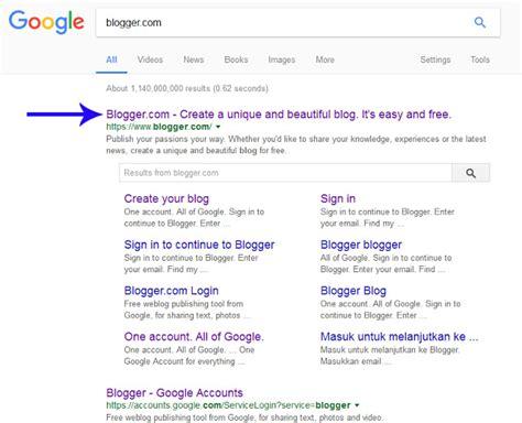 cara membuat blog gratis untuk bisnis cara membuat blog gratis dengan contoh gambar dawai pagi