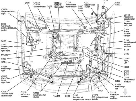engine diagram 2006 ford explorer get free image about