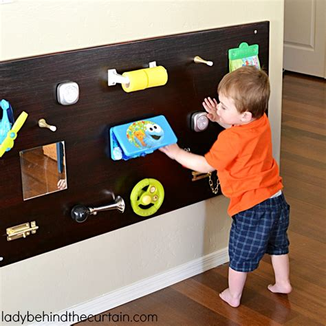 Floor Plan For Kids by Toddler Diy Sensory Board