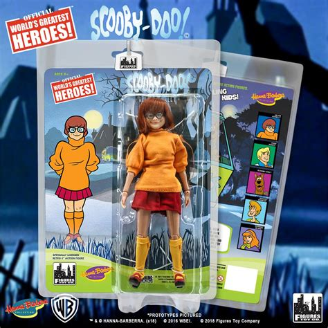 Scooby Doo 8 by Scooby Doo Retro 8 Inch Figures Series Velma