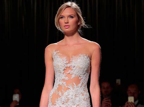 imagenes de vestidos de novia atrevidos 10 vestidos transparentes para las novias m 225 s atrevidas