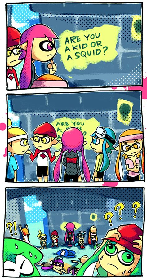 splatoon vol 1 books what is even anything anymore splatoon your meme