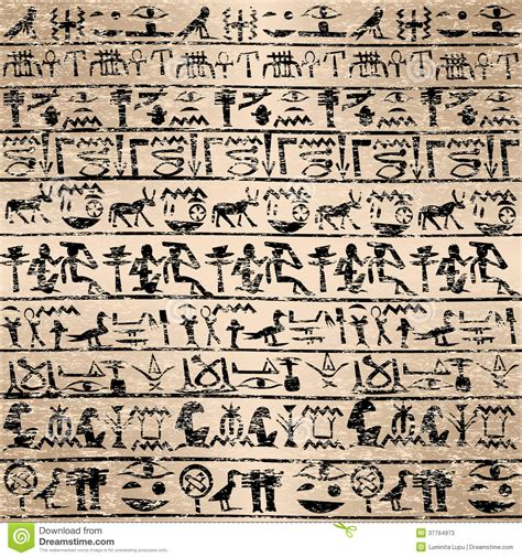 imagenes de jeroglíficos olmecas fondo del grunge con los jerogl 237 ficos egipcios fotos de