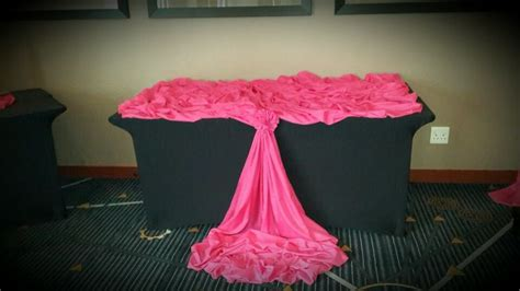 table draping cake table draping draping pinterest
