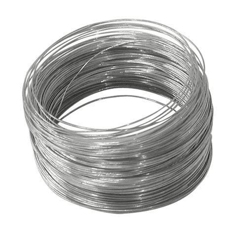 metal wire ook 100 ft galvanized steel wire 50138 the home depot