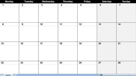 generic printable calendar printable online calendar