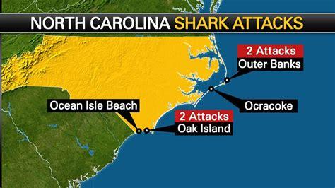 bank of carolina locations interactive map shows location of shark attacks along the
