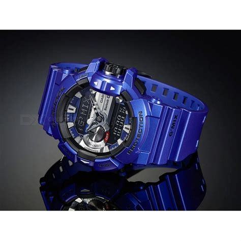 Gshock Gba List Blue casio g shock gba 400 2a g mix bluetooth