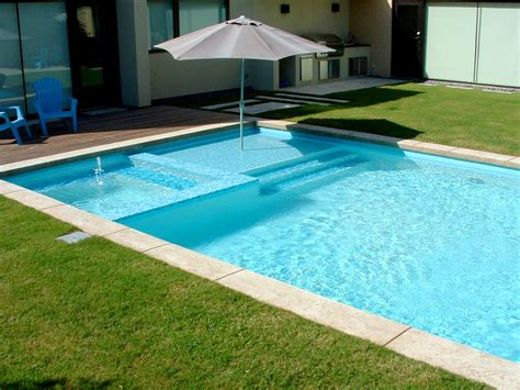 cool backyard swimming pools square design small swimming ideas about rectangle pool backyard gallery with modern