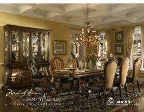 aico furniture dining room sets buy palace gate dining room set with rectangular table by